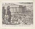 Tempel van Diana in Efeze Septem orbis admiranda (serietitel) De zeven wereldwonderen (serietitel), RP-P-OB-38.215.jpg