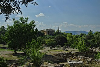 Temple of Hephaestus - Temple of Hephaestus,Theseion