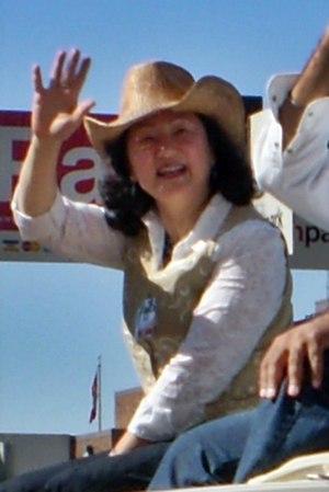 Teresa Woo-Paw - Image: Teresa WOO PAW 2010 Calgary Stampede Parade
