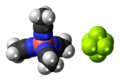 Tetrakis(acetonitrile)copper(I) hexafluorophosphate 3D spacefill.png