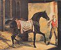 Théodore Géricault - Das Pferd geht aus dem Stall - ca1810.jpeg