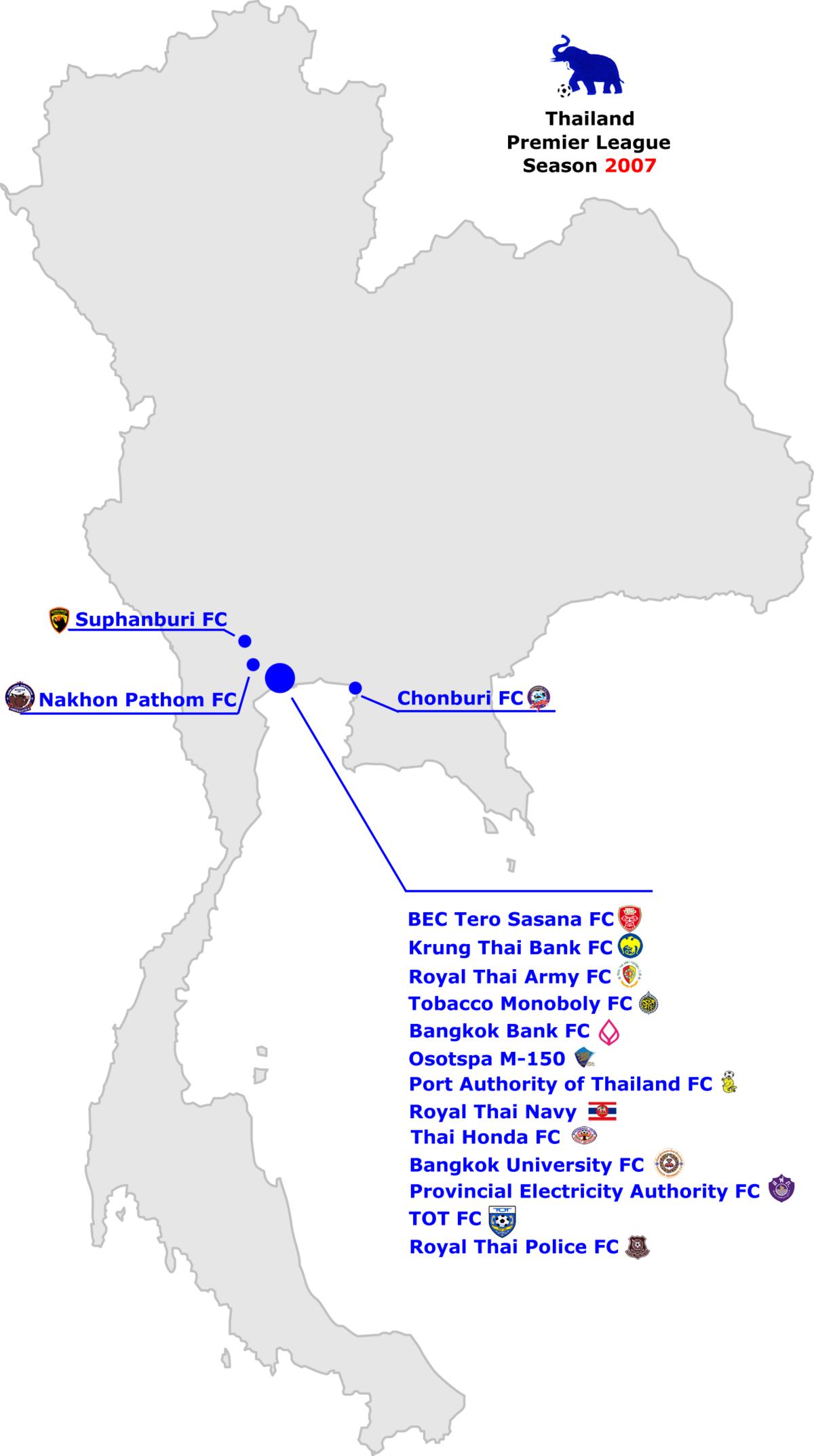 2007 Thailand Premier League Wikipedia