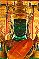 Thailand Wat Phra That Doi Suthep Temple Green Glass Buddha Statue.JPG
