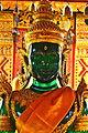 Thailand Wat Phra That Doi Suthep Temple Green Glass Buddha Statue.JPG