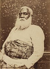 Thakombau, ex-king of Fiji, photograph by Dufty.jpg