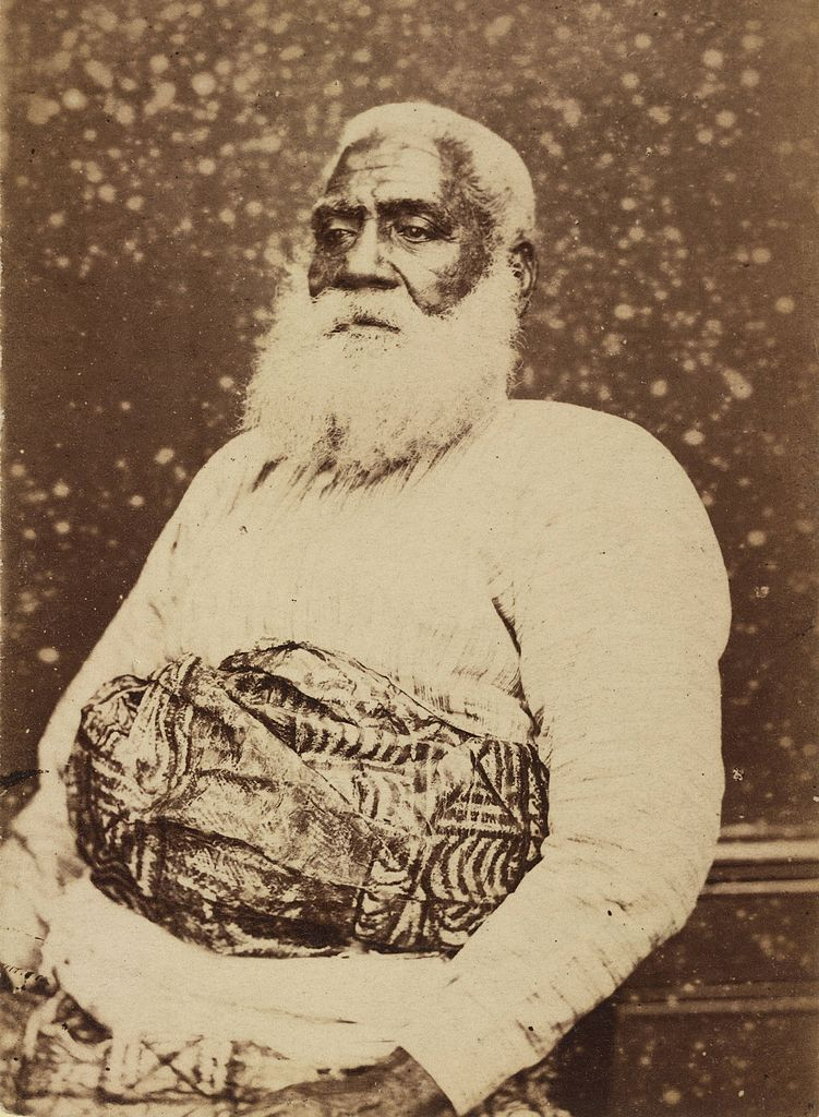 File:Thakombau, ex-king of Fiji, photograph by Dufty.jpg ...
