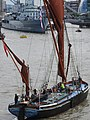 Thames barge parade - downstream - Ardwina 6769c.JPG