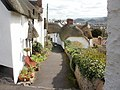 Thatched cottages, Church Steps, Minehead - geograph.org.uk - 1766926.jpg