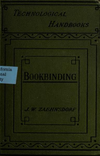 File:The Art of Bookbinding, Zaehnsdorf, 1890.djvu