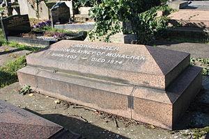 Cadwallader Blayney, 12th Baron Blayney - The Cadwallader grave, Kensal Green Cemetery