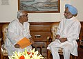 The Chief Minister of West Bengal, Shri Buddhadeb Bhattacharya calling on the Prime Minister, Dr. Manmohan Singh, in New Delhi on June 20, 2009.jpg