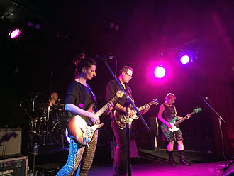 The Clouds (Australian band) - The Clouds performing at The Corner Hotel, Melbourne in 2014