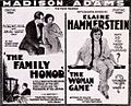 The Family Honor (1920) & The Woman Game (1920) Ad.jpg
