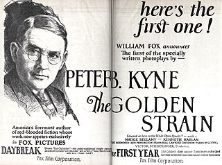 <i>The Golden Strain</i> 1925 film