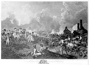 Flanders Campaign - York's attack on Valenciennes.