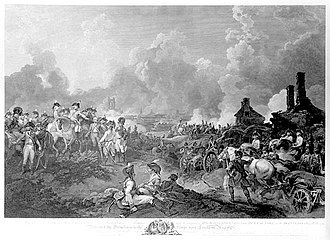 Flanders Campaign - York's attack on Valenciennes.