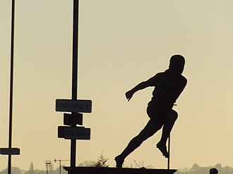 Tony Brown (English footballer) - Statue of Tony Brown at The Hawthorns