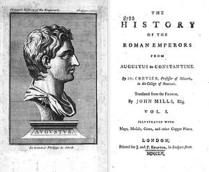 John Mills (encyclopedist) - The History of the Roman Emperors from Augustus to Constantine, 1755