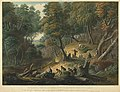 The Maroons In Ambush On The Dromilly Estate In The Parish Of Trelawney, Jamaica in 1795.jpg