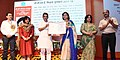 The Minister of State for Human Resource Development, Shri Upendra Kushwaha presenting the CBSE Teachers Award 2017-18, at a function, in New Delhi (3).JPG