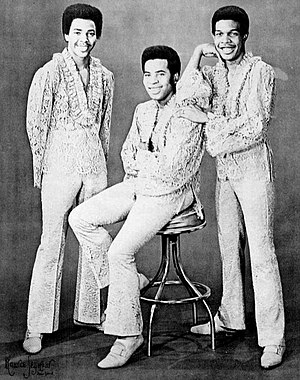 Ray, Goodman & Brown - As The Moments in 1970. From left: Johnny 'Moe' Moore, Billy Brown and Al Goodman.