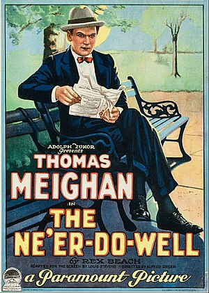 The Ne'er-Do-Well - Theatrical poster