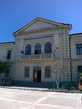 Tulcea County - The Palace of the Danube Commission in Sulina, Tulcea County, Romania, from 1868 to 1921