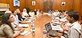 The Prime Minister, Shri Narendra Modi reviewing the progress of Aadhar and Direct Benefit Transfer programmes at a high level meeting, in New Delhi on May 09, 2016.jpg