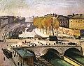 The Saint-Michel Bridge and the Quai des Grands Augustins Albert Marquet (1912).jpg