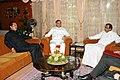 The Union Home Minister, Shri P. Chidambaram with the Governor of Mizoram, Lt. Gen (Retd.) M.M. Lakhera and the Chief Minister of Mizoram, Shri Lal Thanhawla, at Raj Bhavan, Aizawl on May 25, 2010.jpg