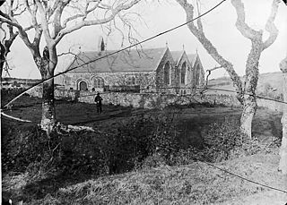 The church, Llangwnnadl