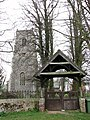 The church of St Swithin and lych gate - geograph.org.uk - 757483.jpg
