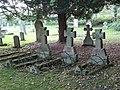 The churchyard of St. Michael's Church, Warden (2) - geograph.org.uk - 1067040.jpg