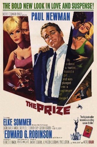 The Prize (1963 film) - film poster by Howard Terpning