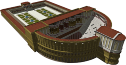 A 3D reconstruction of the Theatre of Pompey by Lasha Tskhondia