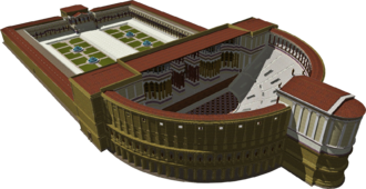 Theatre of Pompey - A 3D reconstruction of the Theatre of Pompey
