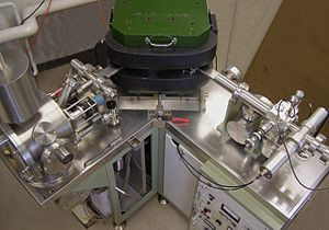 Isotope analysis - Magnetic sector mass spectrometer used in isotope ratio analysis, through thermal ionization.