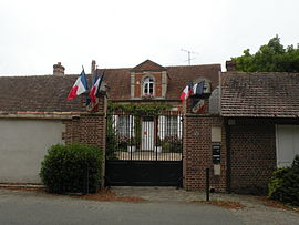 The town hall in Thibivillers