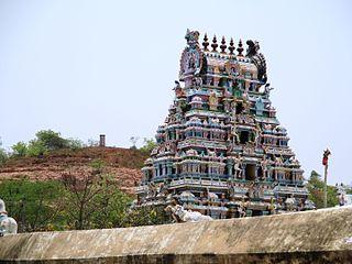 Thirumanikuzhi Village in Tamil Nadu, India