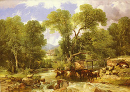 Thomas Sidney Cooper A Wooded Ford.jpg