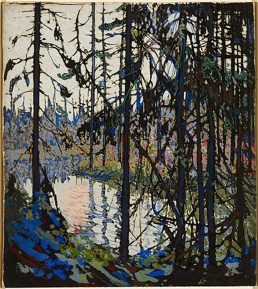 "Study for ""Northern River"" by Tom Thomson"