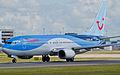 Thomson Airways, Boeing 737-8K5(WL), G-FDZU (18593006202).jpg