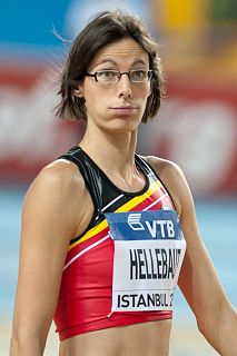 Tia Hellebaut Belgian high jumper