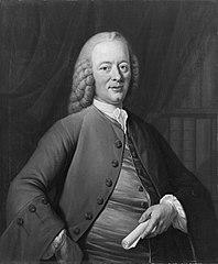 Portrait of Bernardus de Bosch (1709-1786), Poet in 1759