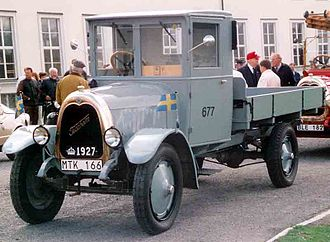 Tidaholms Bruk - Tidaholm TSL Truck 1927
