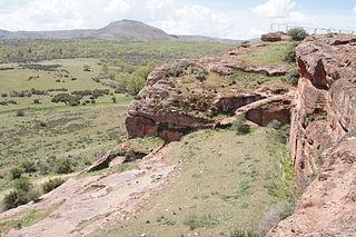 Termantia ibero-celtic archeological site in Spain