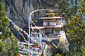 Tiger's Nest or Lair - Paro Buddhist Taktsang Palphug Monastery sacred site in the upper Paro Valley built from 1692 - panoramio (4).jpg