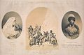 Timm, Vasilii Fedorovich. Shuanat, zhena Shamilia; Magomet-amin; Spusk plennykh miuridov s Guniba.jpg