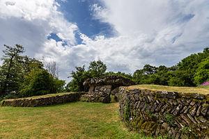 Tinkinswood - Image: Tinkinswood burial chamber
