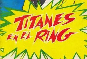 Titanes en el ring - Image: Titanes en el Ring logo